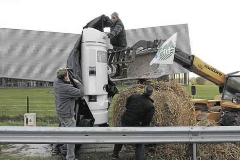 Ecotaxe : les agriculteurs demandent l'ajournement - Les Échos | projet DA | Scoop.it