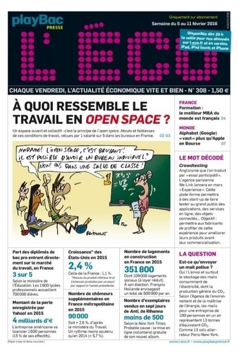L'Eco n° 308 - 5 février 2016   Abonnements  CDI   Scoop.it