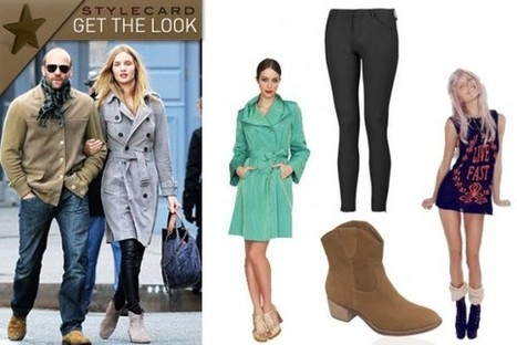 Get The Look: Rosie Huntington-Whiteley | StyleCard Fashion Portal | StyleCard Fashion | Scoop.it