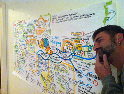 Using graphic facilitation for writer's block | Sam Bradd | Graphic Coaching | Scoop.it