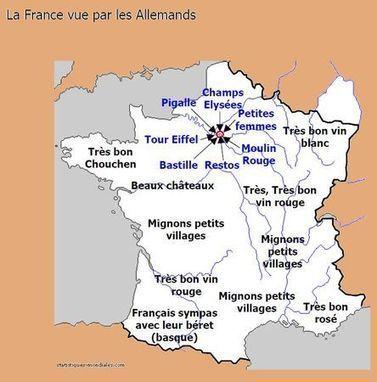 Les vraies cartes de la France | #checked | Scoop.it