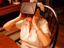 90-year-old grandmother loves virtual reality system - ITworld.com   Immersive Virtual Reality   Scoop.it