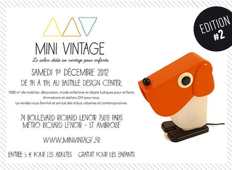 kidZcorner | Mini Vintage, le salon dédié au vintage pour enfants | VintageAddict | Scoop.it
