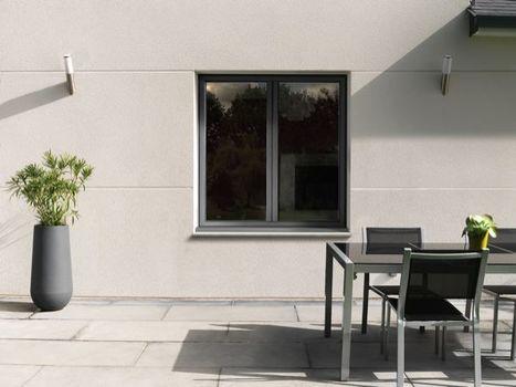 Kline : fenêtre aluminium à frappe à ouvrant caché conforme RT2012 | Immobilier | Scoop.it