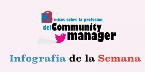 3 mitos sobre el Community Manager #Infografia de la semana | Redes Sociales | Scoop.it