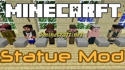 Statue Mod for Minecraft 1.6.4 | Minecraft 1.6.4 Mods | Scoop.it