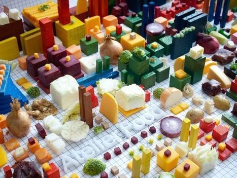 Architectural Blueprint of an Entire City Made of Food-Swedish Experimental Food | Amazing Arts & Design | Scoop.it