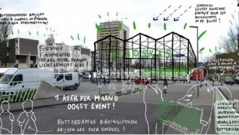Urban Greenhouse in Rotterdam to be new city icon | Sustainable Urban Agriculture | Scoop.it