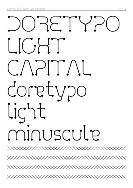 Doretypo Font | GRaphicARTnews | Scoop.it