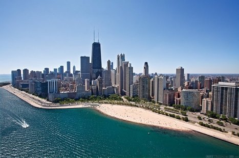 Awesome Chicago. Photos of cities and countries for ios. Chicago, USA, Illinois, Cook. | CityWallpaperHD | Scoop.it