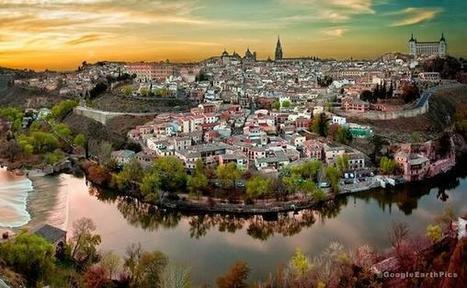 Twitter / GoogleEarthPics: Toledo, Spain #EarthPics ... | binNotes Spain - Wine & Culture | Scoop.it