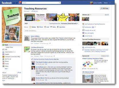 Teaching Resources on Facebook | Laura Candler's Teaching Resources | Scoop.it