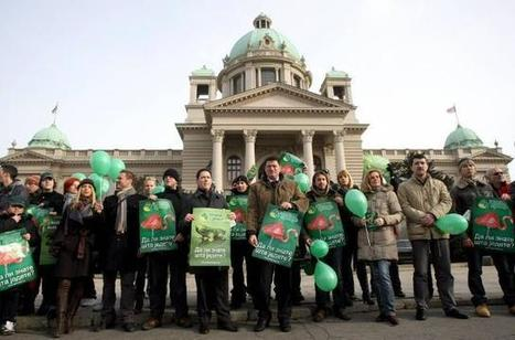 Greens of Serbia protest demanding ban on GMO   YOUR FOOD, YOUR ENVIRONMENT, YOUR HEALTH: #Biotech #GMOs #Pesticides #Chemicals #FactoryFarms #CAFOs #BigFood   Scoop.it