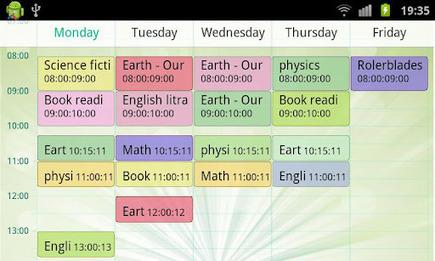 TimeTable – planificando el horario de clases | Mejorando la educación | Scoop.it