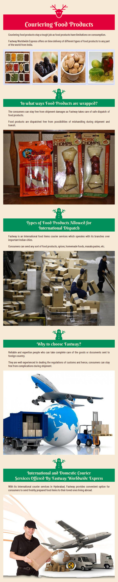 Know How to Send Food Products to your Beloved Ones by www.fastwayindia.com   fastwayindia   Scoop.it