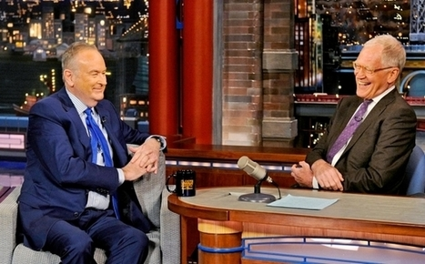 Bill O'Reilly talks Brian Williams and false claims with David Letterman - Entertainment Weekly (blog) | Naked Journalism | Scoop.it