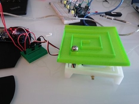 BrainiHack 2015: Arduino Software & Brainwaves Run 3D Printed 'Labyrinth' Game | Raspberry Pi | Scoop.it