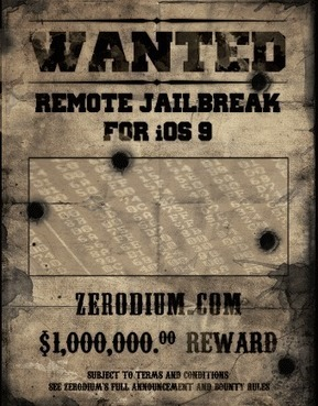 Hackers claim $1 million bounty after remotely jailbreaking iPhones | Apple | ZERODIUM | Nobody Is Perfect | Apple, Mac, iOS4, iPad, iPhone and (in)security... | Scoop.it