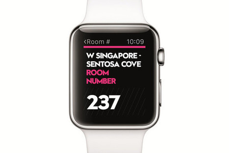 Apple Watch now opens hotel rooms at Starwood hotels | Destination | Scoop.it