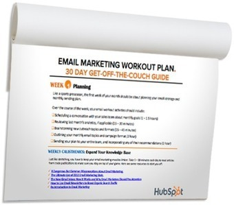 Email Marketing Workout Plan | 30 Day Guide to Creating an Email Campaign | BuildExpertBrand - Social Media, Branding, Authorship, Blogging, Vlogging, Video Courses, Content Marketing, Podcasting | Scoop.it