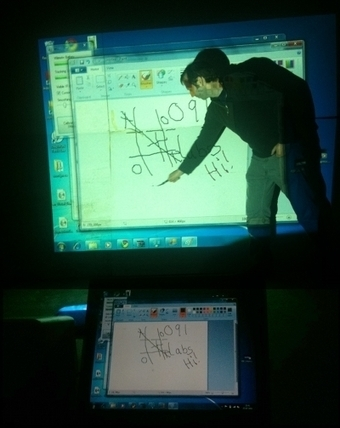 Home Brew Interactive White Board with Wii Remote Controller   New Tech Post   teaching with technology   Scoop.it