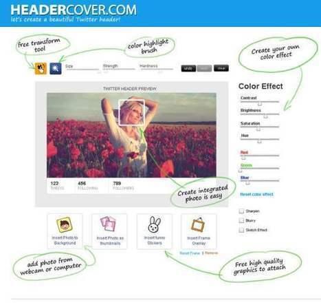 Créer une bannière Twitter en quelques clics de souris, Header Cover | Actualité | Scoop.it