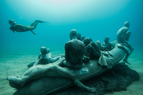 En Espagne, le premier musée sous-marin d'Europe rend hommage aux migrants | Clic France | Scoop.it