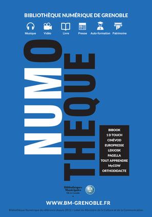 Soirée de lancement de la Numothèque, la nouvelle bibliothèque numérique grenobloise | BiblioLivre | Scoop.it