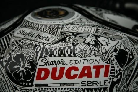 Sharpie Edition Ducati | Ducati & Italian Bikes | Scoop.it