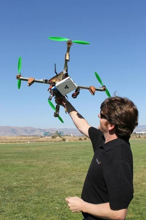 Extreme Wi-Fi: AP-equipped drone takes flight | Les Volutiles | Scoop.it