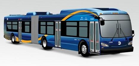 New York installe le WiFi et des prises USB dans ses bus. | Nouvelles technologies | Scoop.it