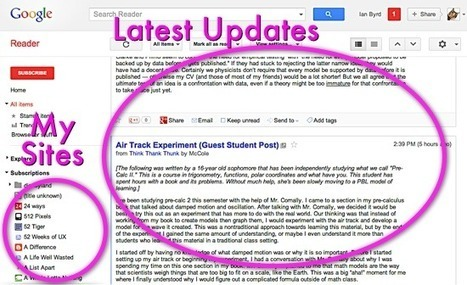 Finding Inspiration With Google Reader | Edtech PK-12 | Scoop.it