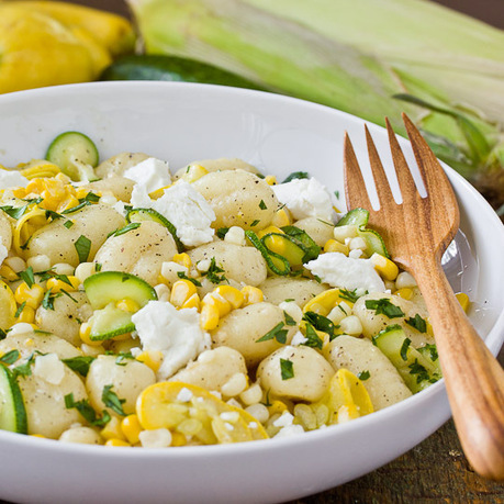 Recipe:  Gnocchi with Squash & Sweet Corn   Recipes from The Kitchn | SEAFOOD RECIPES | Scoop.it