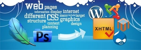 PSD to xHTML | TWA The Web Artists: Web Solutions | Scoop.it