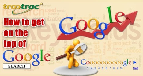 How to get on the top of Google Search   TrooTracMedia Digital Marketing Agency & Affiliate Network, Delhi, India   Holiday Packages   Scoop.it