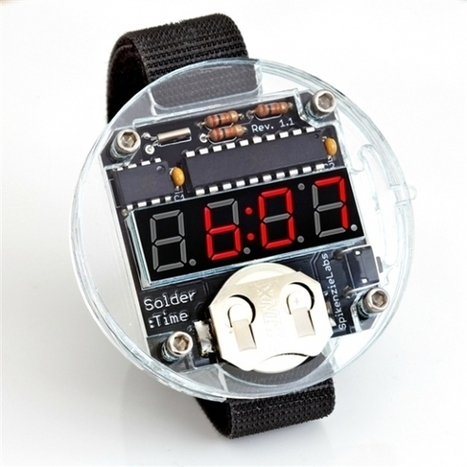 In the Maker Shed: Solder Time WatchKit | Open Hardware | Scoop.it