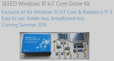 Microsoft's new Raspberry Pi 3 kit makes it easy to create new devices | Arduino, Netduino, Rasperry Pi! | Scoop.it
