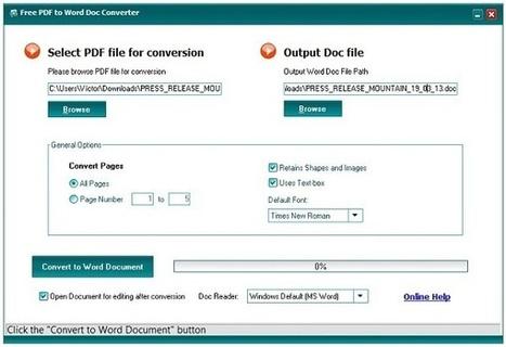Cómo convertir un PDF en Word gratis - tuexperto.com | Ezee | Scoop.it