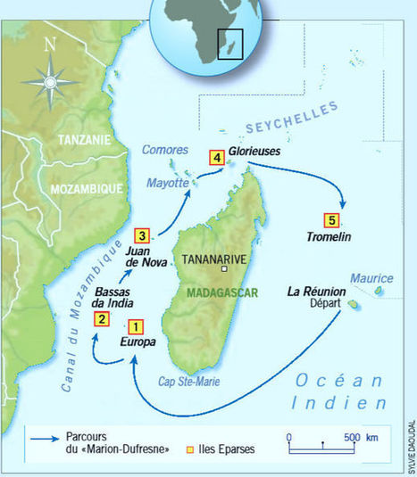 Les Iles éparses, des sanctuaires océaniques où palpite encore la nature primitive | Biodiversité & Relations Homme - Nature - Environnement : Un Scoop.it du Muséum de Toulouse | Scoop.it