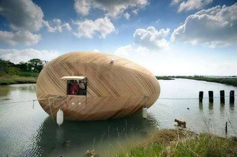 Maison flottante | Hébergements insolites | Scoop.it