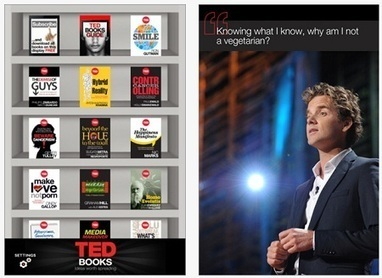 TED Launches TED Books App for iPhone, iPad   PadGadget   iPad Resources for Educators   Scoop.it