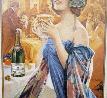 Champagne : Mercier expose ses publicités fondatrices - Vitisphere.com | Vin et Culture | Scoop.it