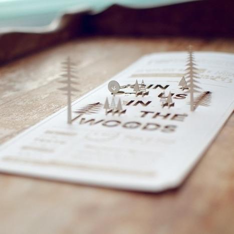 10 invitaciones de boda molonas para tu inspiración | Mundo diseño | Scoop.it