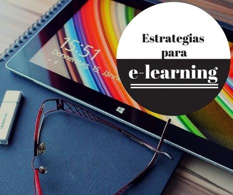 Estrategias e-learning para un mayor aprovechamiento | Networking | Scoop.it