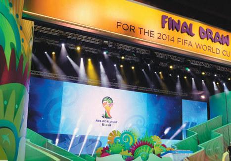 Tirage au sort de la Coupe du monde 2014   Football   Scoop.it