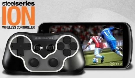 SteelSeries ION : une nième manette portable pour Android   FrAndroid Communauté Android   Vade RETROGames sans tanasse!   Scoop.it