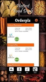 Orderplz - Easy food order App - Android Apps on Google Play | Home Delivery Restaurants  in Chennai | Scoop.it