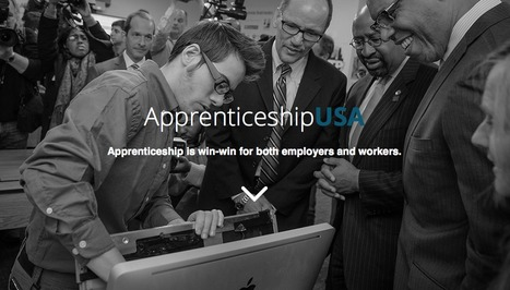 Apprenticeship - U.S. Department of Labor | Manufacturing In the USA Today | Scoop.it