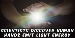Scientists Discover Human Hands Emit Light Energy | Natural Health & Healing | Scoop.it