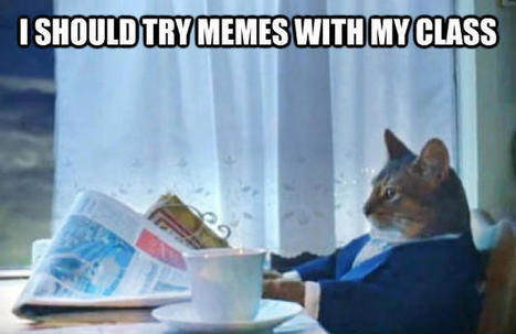 Using Internet Memes to Connect with Your Class | Learning 2gether | Scoop.it